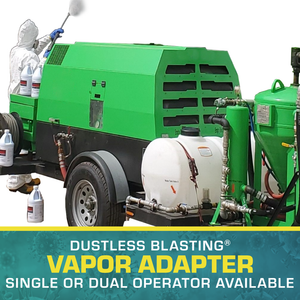 Dustless Blasting® Vapor Adapter - Single and Dual Operator Kits Available
