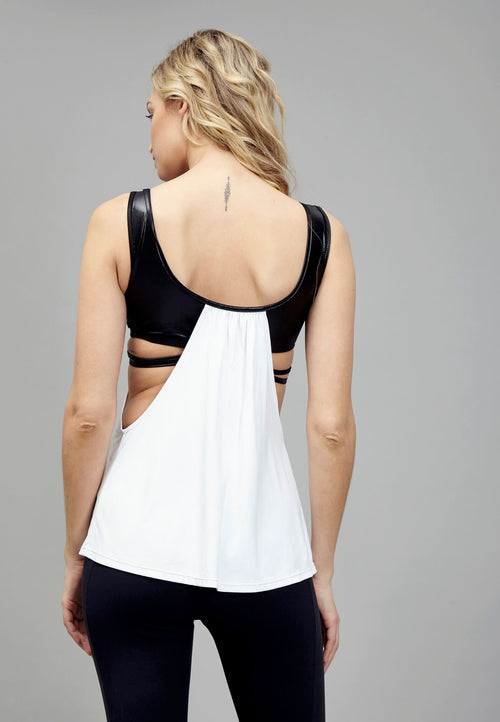 SixtyNinety 2Ways Top White Back