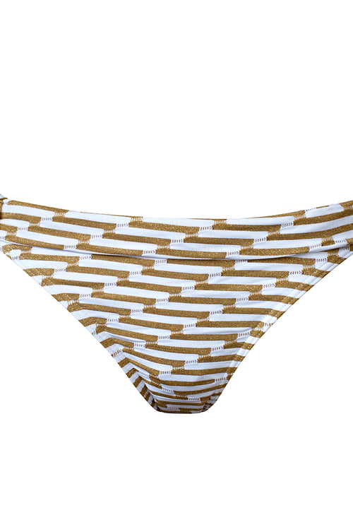 West Seventy Nine SEASURFER Bikini brief gold accessory Gold Chevron