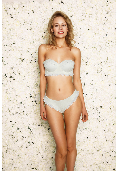 Afina London Georgina Bridal Bikini Front