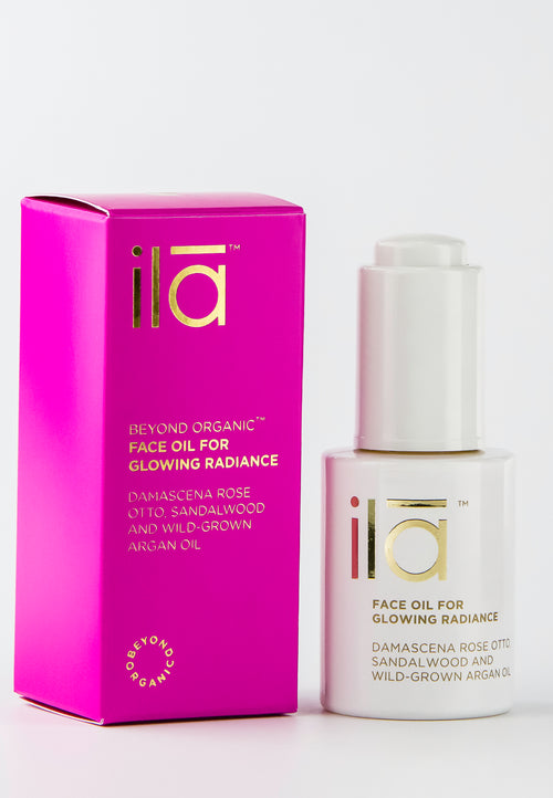 Ila Face Oil for Glowing Radiance 30ml - Prod box