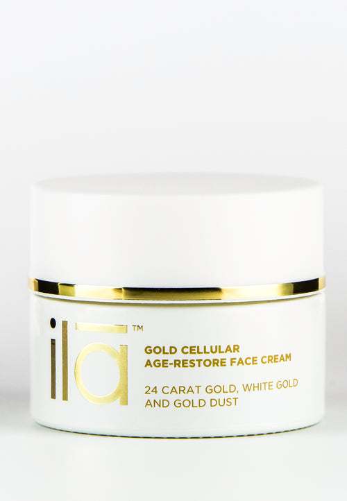 Ila Gold Cellular Age-Restore Face Cream - Product