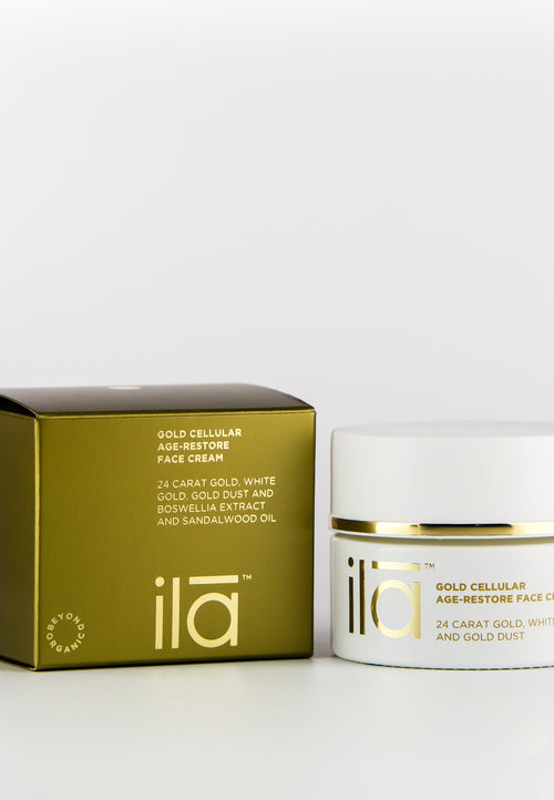 Ila Gold Cellular Age-Restore Face Cream - Prod box