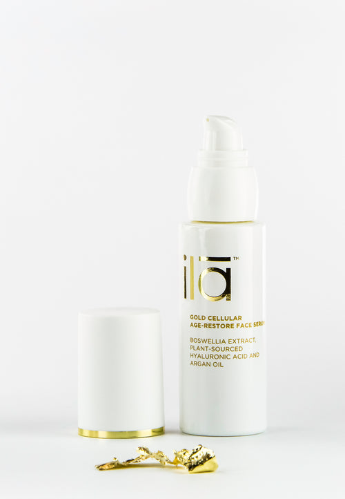 Ila Gold Cellular Age-Restore Face Serum 30ml - Prod pop