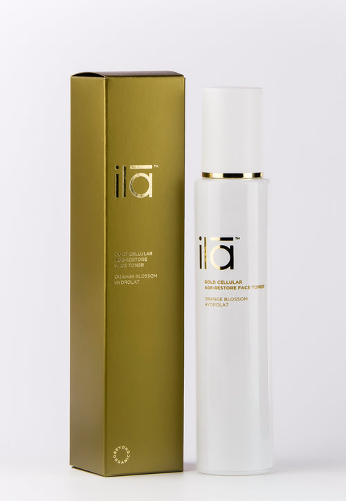 Ila Gold Cellular Age-Restore Face Toner 100ml - Prod box