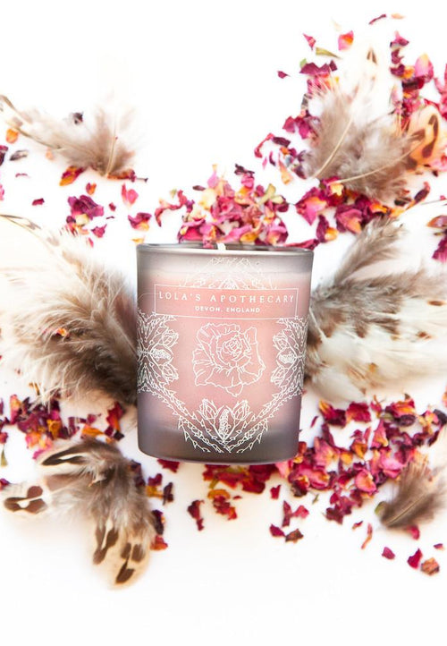 Lola's Apothecary Delicate Romance Naturally Fragrant Candle