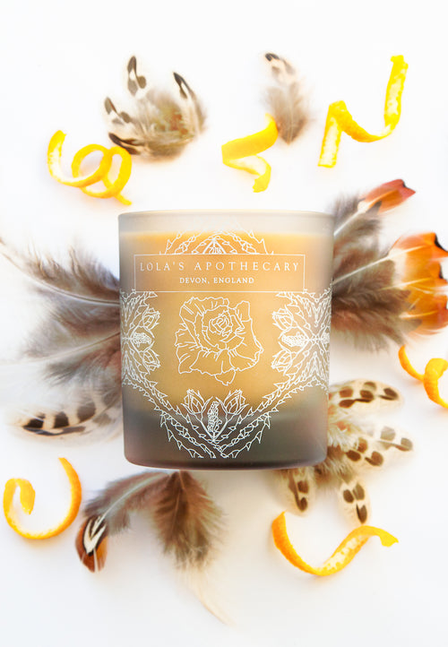 Lola's Apothecary Orange Patisserie Naturally Fragrant Candle