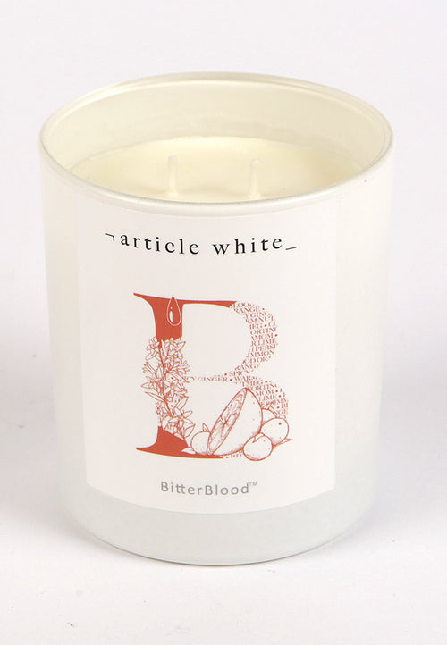 Article White Bitter Blood Candle