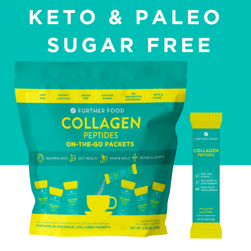 Collagen Peptides Protein Powder On-the-Go Packets (35 per bag)