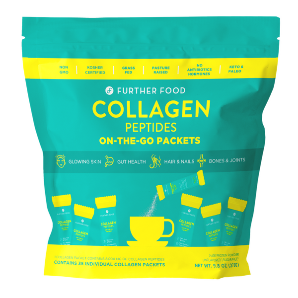 Collagen Peptides Powder On-the-Go Packets (35 per bag)