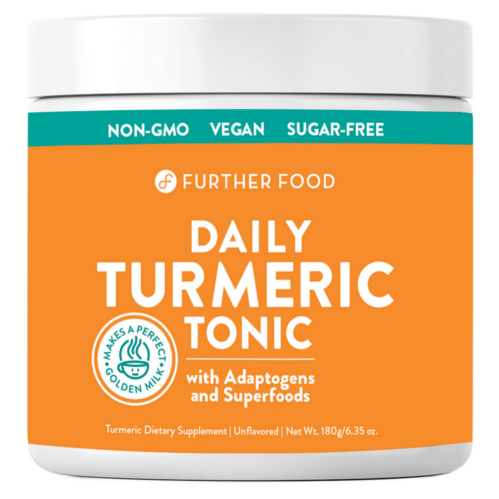 Daily Turmeric Tonic (90-Day Supply) – Further Food