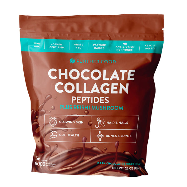 Further Food Chocolate Collagen 56 Servings
