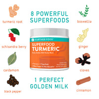 Further Food Turmeric Ingredients