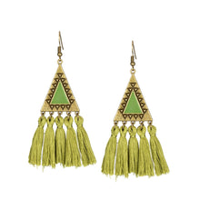 Boho-chic Tassel Drop Earrings