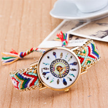 Bohemian Dreamcatcher Handweaved Strap Watch