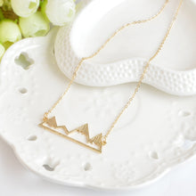 Mountain Pendant Necklace