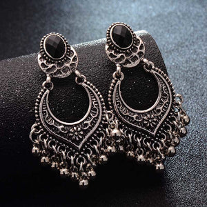 Ethnic Gypsy Tassel Gold/Silver Earrings