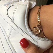 Personalized Initial Anklet