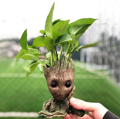 Cute Baby Groot Flower Pot