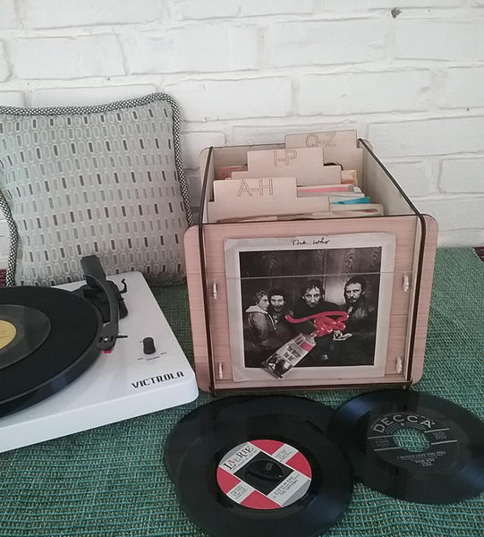 "YouTube Channel ""Too Many Records"" Is A  Fan Of Our 45 Record Storage Box"