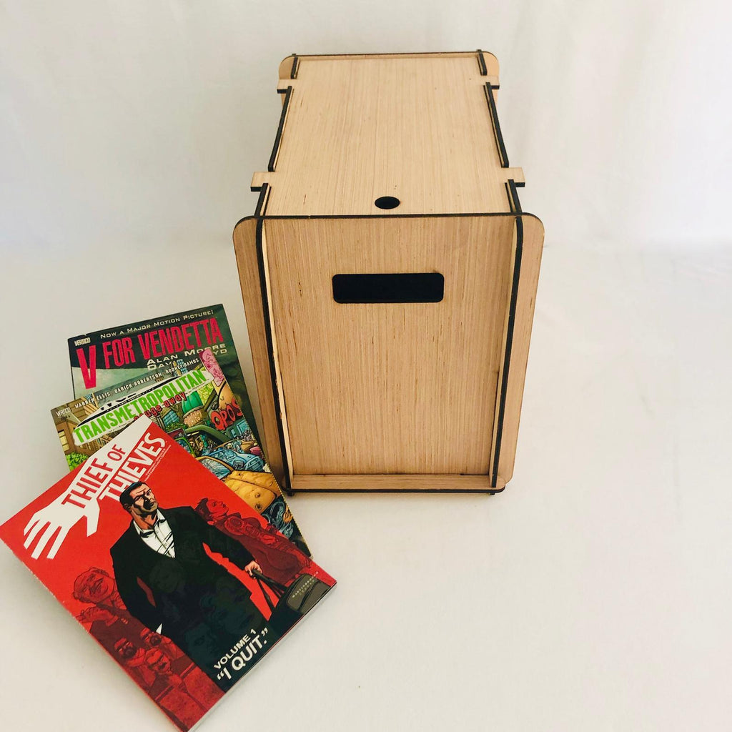 Custom Listing for Cait  3 Comic Book Boxes with No Display Free US Shipping