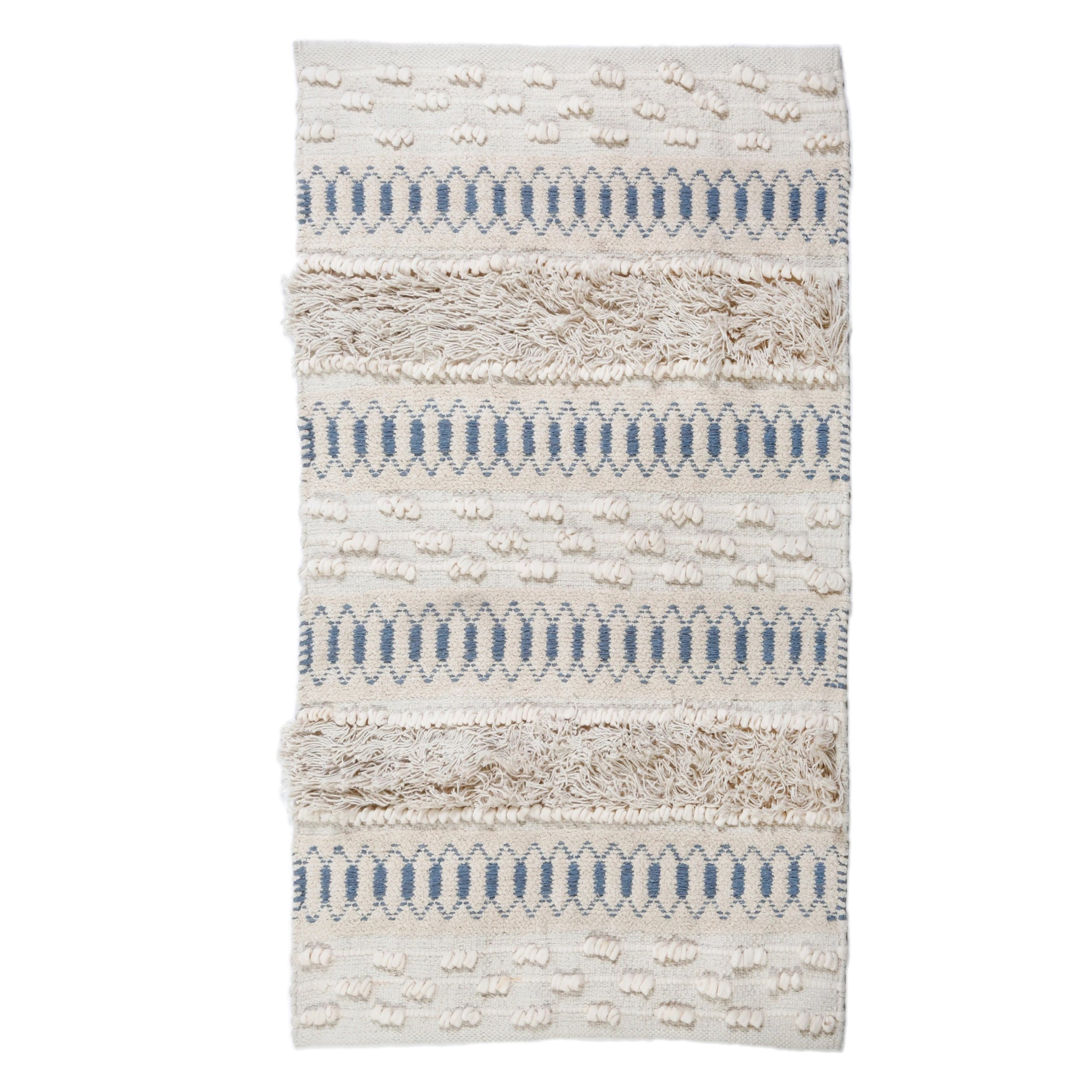 Avery Ivory/Denim 2x3 Rug