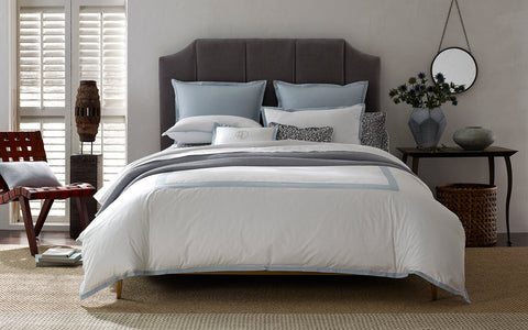 Oberlin Blue Queen  Duvet Cover