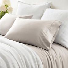 Classic Hem Platinum Twn Sheet Set