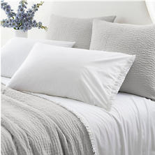 Classic Ruffle White K Sheet Set