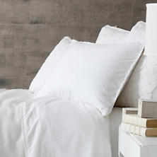 Petite Ruffle White King Sheet Set