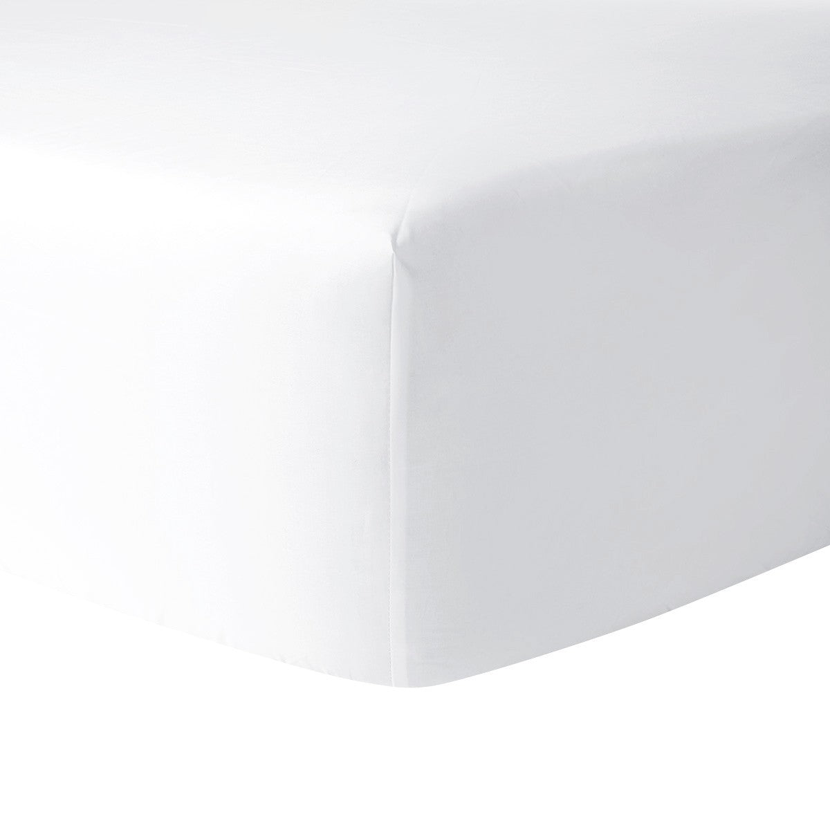 Athena Blanc King Fitted Sheet