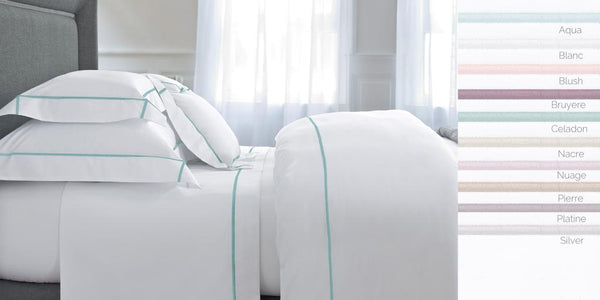 Athena Blanc King Flat Sheet