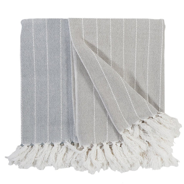 Henley Oat Throw