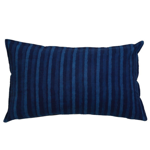 Indigo Stripe Pillow