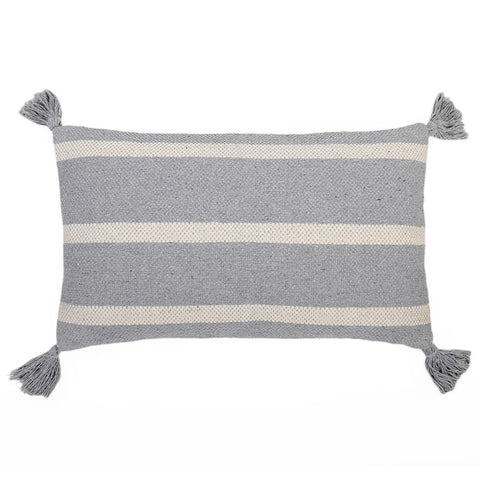 Jane Blue Grey Pillow