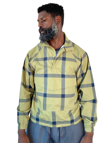 Big Plaid Anorak: Faded Olive