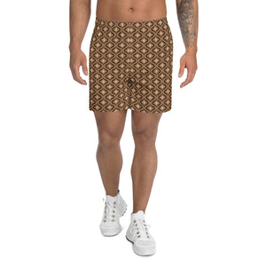 Choco Love Athletic Shorts: Mocha