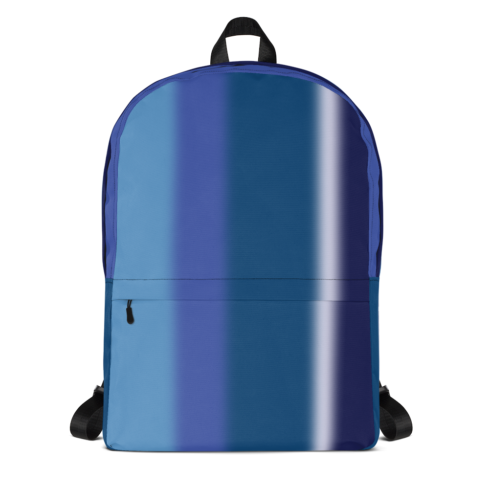 Neon Lights Backpack: Blue