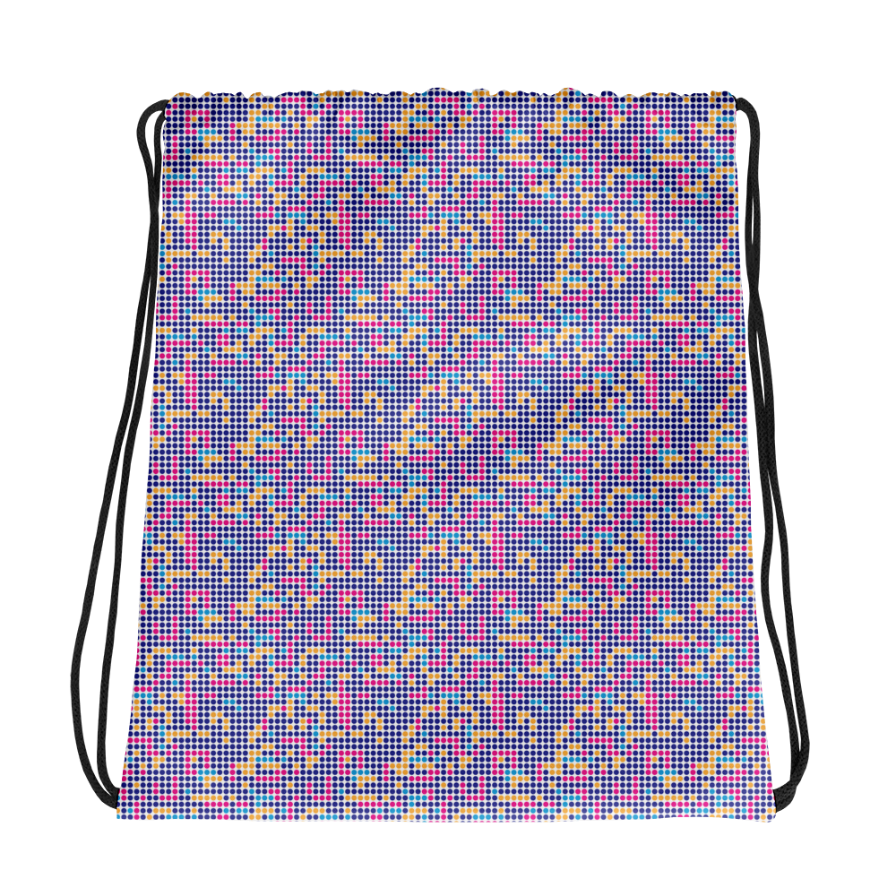 Dot Drawstring bag: Multi