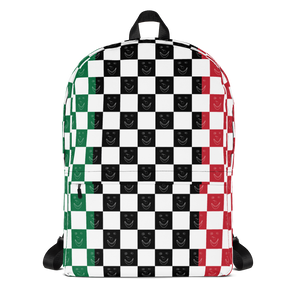 Holidaze Happy Banana Backpack: Red/Green