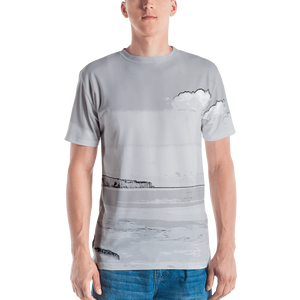 Grey Planet Printed T-shirt