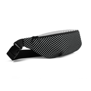 Big Bone Waist Bag: Noir