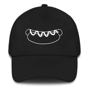 Big Dog Dad hat: Black