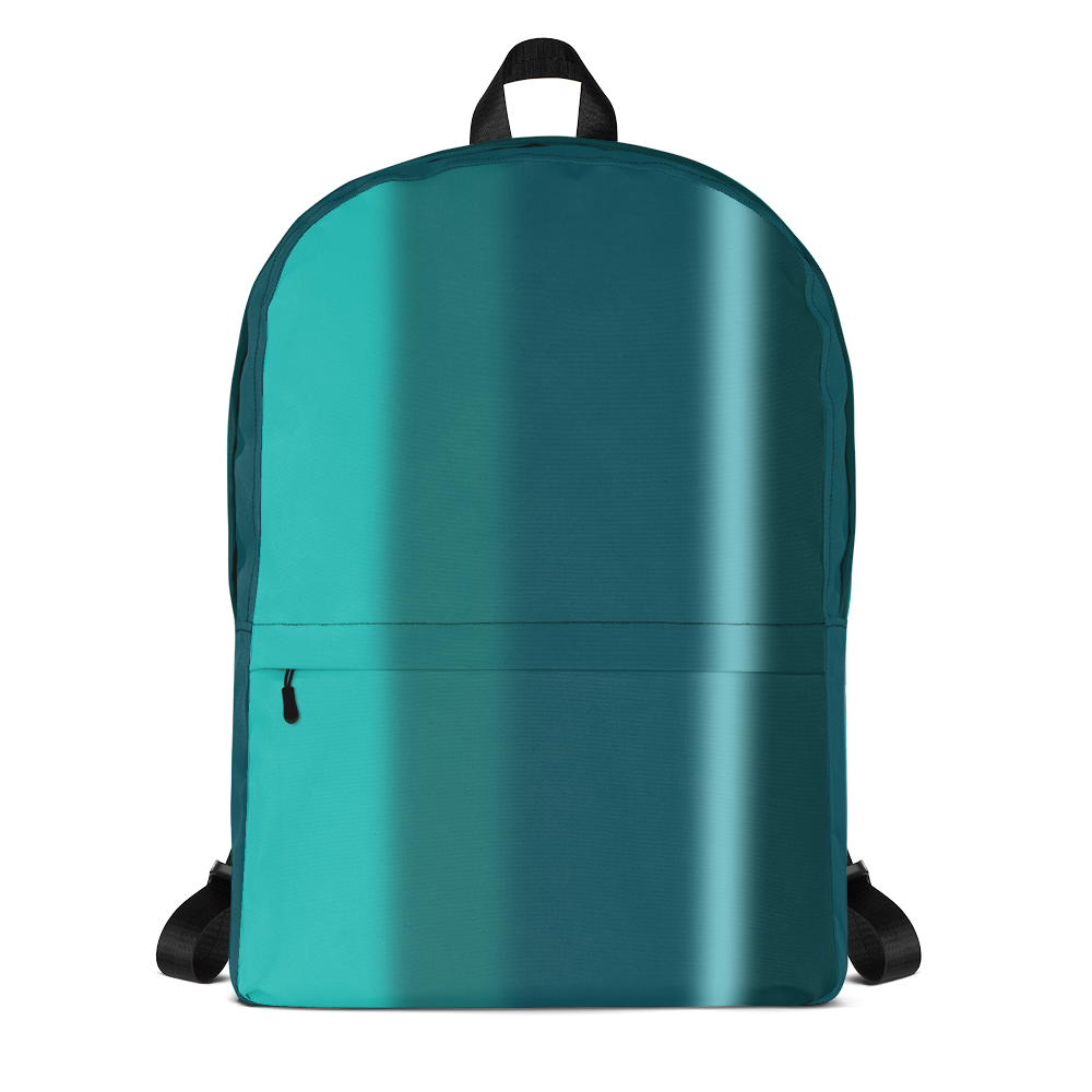 Neon Lights Backpack: Green