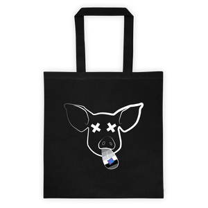Party Pig Tote bag: Black
