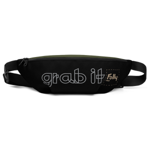 Grab It Waist Bag: Black