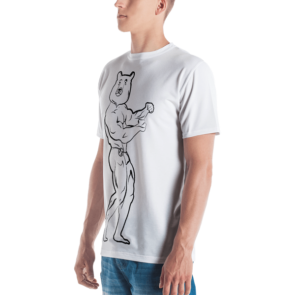 Muscle Bear T-shirt: White
