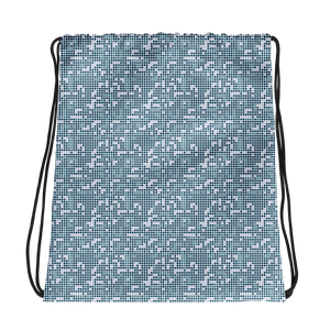 Dot Drawstring bag: Blue