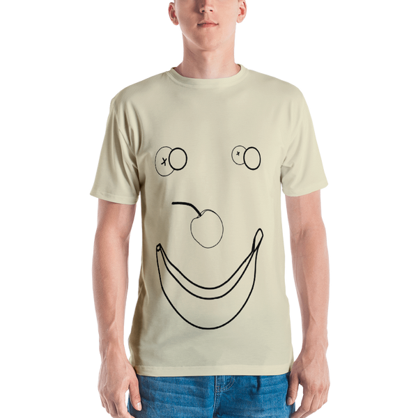 Happy Banana T-shirt: Cream