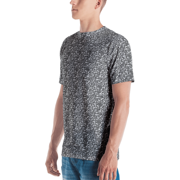 Dots Men's T-shirt: Black